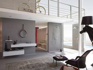 Espace Aubade - Salle de bains moderne Espace Aubade Salle de bainBaignoires & douches