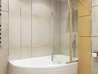 Minimalistische badkamers van Tatiana Zaitseva Design Studio Minimalistisch