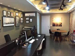 Escritório Arquitetura Escritórios modernos por Vitor Dias Arquitetura Moderno