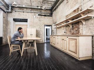 Резиденция художника «ЗАРЯ»: Гостиная в . Автор – Concrete jungle