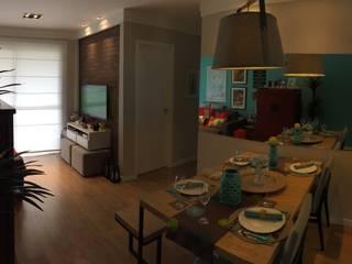 Reforma de Apartamento em São Bernardo Salas de estar modernas por Vitor Dias Arquitetura Moderno