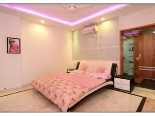 Master bedroom .:   by sayyam interiors.
