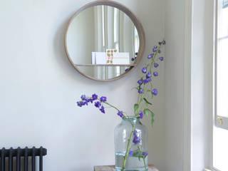 Hula mirror Loaf ห้องนั่งเล่นของตกแต่งและอุปกรณ์จิปาถะ ไม้