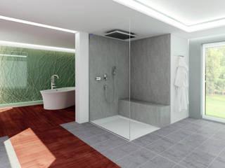 AIR Fjord:  Badezimmer von Duscholux Sanitärprodukte GmbH