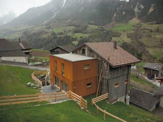 Transformation d 'un raccard par Atelier d'architecture Lorianne Maret Rural