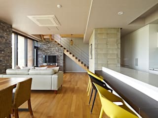 Modern Living Room by johsungwook architects Modern
