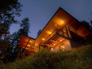 Casas de estilo  por Uptic Studios, Moderno