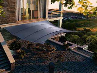 Balcones y terrazas de estilo  por derraumhoch3,