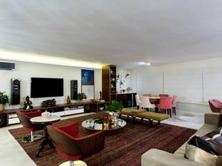 Livings de estilo moderno de Bruno Sgrillo Arquitetura Moderno