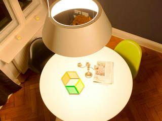 Arbeitsbereich im Wohnzimmer:  Wohnzimmer von jack be nimble  - lighting | design | innovation