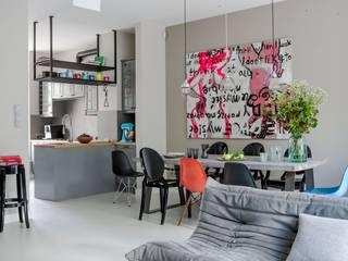 Столовая комната в стиле модерн от t Модерн