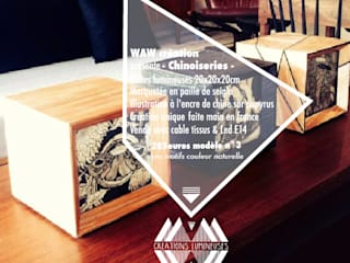Light Box - Chinoiseries - :  de style  par WAW Création