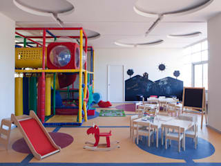 Residencial Vivalto: Recámaras infantiles de estilo  por Grupo Nodus Arquitectos