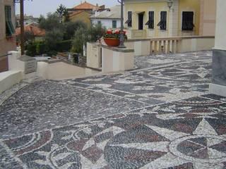 Casas de estilo clásico de vigo mosaici s.n.c Clásico