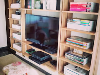 Maisons de style  par PLUMA · muebles y proyectos ·, Scandinave