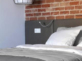 Lugerin Architects Scandinavian style bedroom