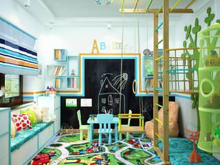 Nursery/kid's room by Студия дизайна Interior Design IDEAS