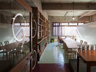 에클레틱 서재 / 사무실 by Smart Running一級建築士事務所 에클레틱 (Eclectic)