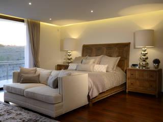 Recamara Principal Casa GL Dormitorios modernos de homify Moderno Madera Acabado en madera