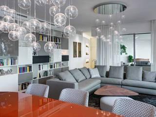Salas / recibidores de estilo  por Studio Marco Piva,