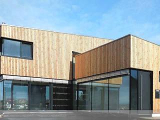 Fassadenarbeit Moderne Häuser von Karl Moll GmbH Modern