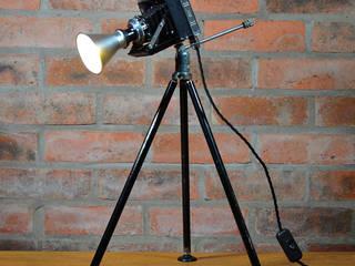 'THE ZEISS NETTAR' TABLE LAMP/DESK LIGHT it's a light Ruang Media Gaya Eklektik