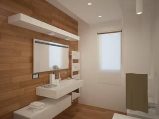Baños de estilo minimalista de diparmaespositoarchitetti Minimalista