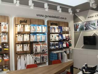 Güneş Tekstil - Showroom SEFA ÇAPRAZ MİMARLIK İNŞAAT Modern