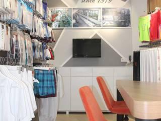 SEFA ÇAPRAZ MİMARLIK İNŞAAT – Güneş Tekstil - Showroom:  tarz Ofisler ve Mağazalar