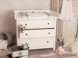 PuckDaddy Nursery/kid's roomWardrobes & closets Chipboard White