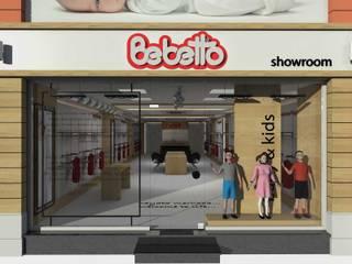 Bebetto - Showroom SEFA ÇAPRAZ MİMARLIK İNŞAAT Modern