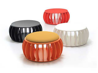 C-Anenome Stool and Table: modern  by David Fox Design Ltd, Modern