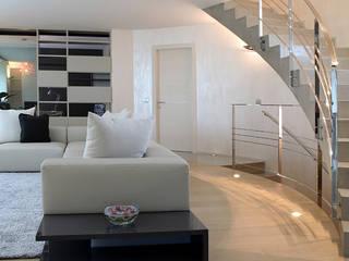 minimalistische Woonkamer door Semplicemente Legno