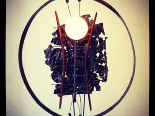 Des Lampes en Acier Bois et objets de recup récup-éclaire (Thibaut Richard) MaisonAccessoires & décoration