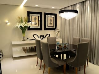Comedores de estilo  de Giovana Martins Arquitetura & Interiores, Moderno