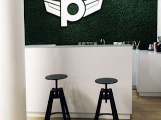 Zolnik Pracownia Minimalistischer Flur, Diele & Treppenhaus