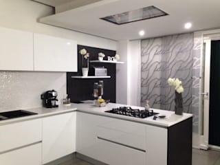Modern kitchen by RicreArt - Italmaxitetto Modern