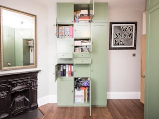 Hammersmith Music and Spare Room storage: modern  by West London Carpentry & Decoration, Modern