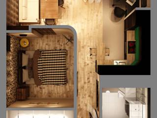 Modern walls & floors by Marina Sarkisyan Modern