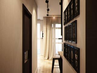 Couloir et hall d'entrée de style  par Marina Sarkisyan, Moderne
