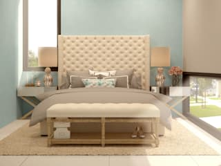 Bedroom by CONTRASTE INTERIOR, Classic