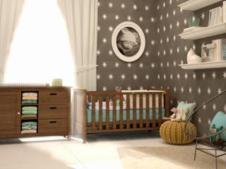 Nursery/kid's room by CONTRASTE INTERIOR