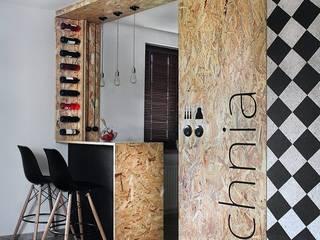 Modern kitchen by kreARTywni_ studio projektowe Modern