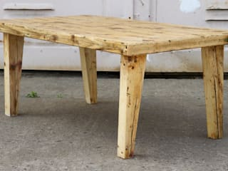 The medieval coffee table: industriell  von Kentholz,Industrial