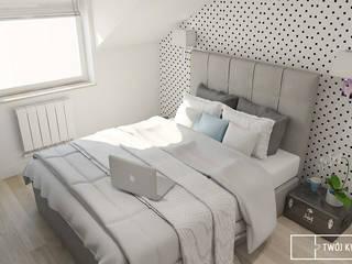Moderne Schlafzimmer von Twój Kwadrat Modern