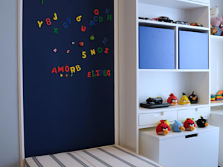 Clô Vieira Design de Interiores Kamar Bayi/Anak Modern
