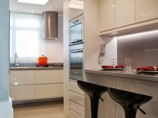 Projekty,  Kuchnia zaprojektowane przez karen feldman arquitetos associados, Minimalistyczny