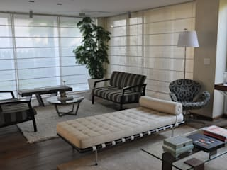 Clô Vieira Design de Interiores Ruang Keluarga Modern