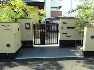 Jardines eclécticos de 木村博明 株式会社木村グリーンガーデナー Ecléctico