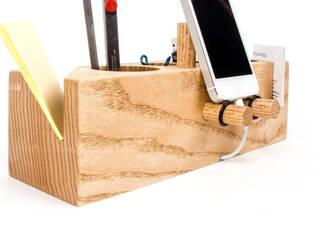 핸드폰거치대 연필꽂이 Grande (Desk Organizer Grande) by Orange Wood